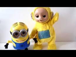 lala tutie teletubbies dancing lala minions kids toys