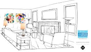 Interior Decoration Sketches Drawing Of Living Room Home Interior Design Ideas Cheap Wow