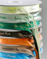 personalized satin ribbon personalized gifts personalized dyna satin ribbon custom