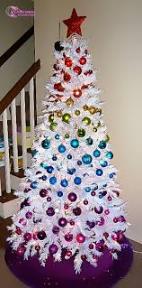 decorations beautiful christmas trees decorating ideas white