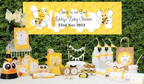 bee baby shower ideas bumble bee party supplies boy baby shower ideas personalized party s
