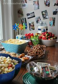simple party foods birthday party ideas