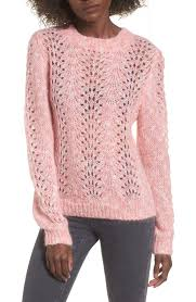 strawberry sweater topshop strawberry open knit sweater nordstrom
