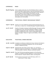 Sample Resume For Massage Therapist by Executive Massage Therapist Resume Template Page 5