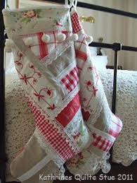 vintage quilts into stockings great use for an old loved quilt