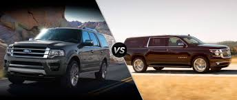 chevy suburban ford expedition vs 2015 chevy suburban