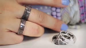 ring selbst designen diy ringe aus schrumpffolie komplett selbst gestalten plastik