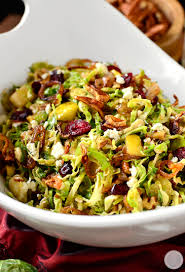 cold salads for thanksgiving fall shredded brussels sprouts salad iowa eats