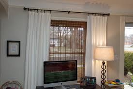 double curtains pins double window curtains neutral office