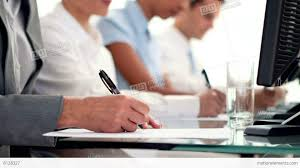 what is writing paper business people writing on paper in call center stock video business people writing on paper in call center stock video footage