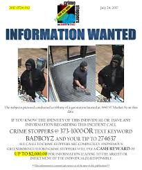lexus bolton twitter information wanted on gas station robbery greensboro guilford