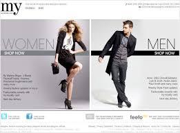 fashion e shop 35 inspirational fashion website designs webdesigner depot