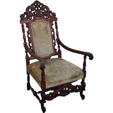Rocking Chair Png Antique High Back Chair Antique Furniture