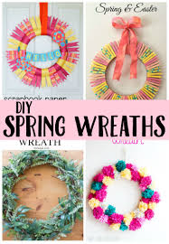 diy spring wreaths perfect for your front door create u0026 crave