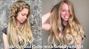 cut before dye hair hair cut and color with grav3yardgirl youtube