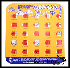 The Bingo Barn Travel Bingo Toy Activity Bundle For Kids Busy Bag Games