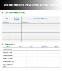 Requirements Template Excel 11 Business Requirements Documents Free Premium Creative