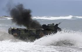 amphibious vehicle military mitsubishi amphibious assault vehicle us marines business insider