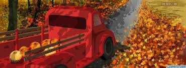 thanksgiving fall truck cover timeline photo banner for fb