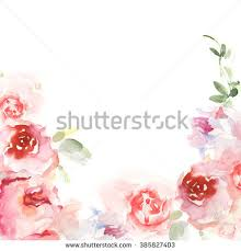 Watercolor Flowers - purple watercolor flowers stock images royalty free images