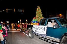 jeep christmas parade lyons holiday parade of lights lyons co