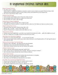 10 neighborhood christmas outreach ideas u2013 nbs2go