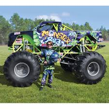 monster truck shows for kids the mini monster truck hammacher schlemmer