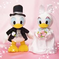 bridal stuffed donald duck u0026 daisy duck baby toys