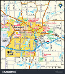 Saginaw Michigan Map by Battle Creek Michigan Area Map Stock Vector 143948104 Shutterstock
