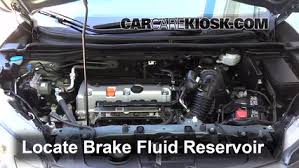 honda crv brake 2012 2016 honda cr v brake fluid level check 2012 honda cr v ex
