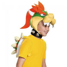 Bowser Halloween Costumes Disguise Super Mario Bowser Kit Villain Peach Child Halloween