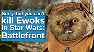 Ewok Memes - sorry but you can t kill the ewoks in star wars battlefront