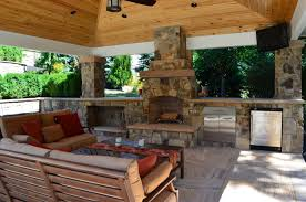kitchen fireplace designs outdoor living outdoor kitchen fireplace design services