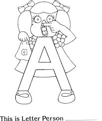 letter people coloring pages pertaining to invigorate to color