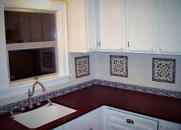 painted kitchen backsplash ideas painted tiles kitchen backsplash ideas 28411 home designs