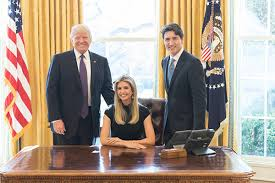 trump desk vs obama desk pics ivanka trump in oval office with donald has voters furious