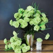balsacircle 252 mini silk carnations flowers for wedding party