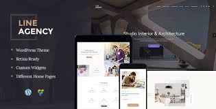 Interior Themes by Line Agency Interior Design U0026 Architecture Theme By Themerex