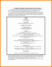 college application resume templates college application resume template awesome four causes of ww1 essay