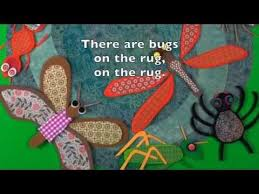 Rug Bugs Bugs On The Rug Board Book And Song Youtube
