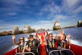 thames barrier rib voyage thames rockets review london speedboat tours