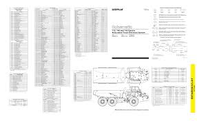 caterpillar articulated truck 740