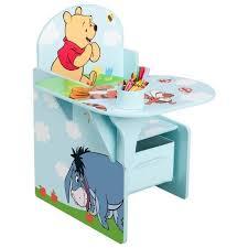 bureau pupitre enfant winnie l ourson pupitre enfant avec rangement bleu et