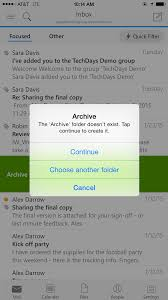 pin lock and other updates outlook for ios and android office