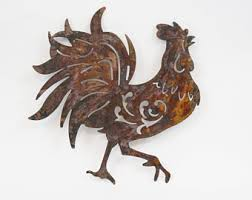 Rooster Decor For The Kitchen Rooster Wall Art Etsy