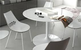 table ronde cuisine design table de cuisine ronde en verre pied central table ronde extensible