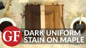 how to stain unfinished maple cabinets how to achieve even finishes on maple with water based stain general finishes