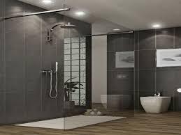 sunken display rack and mirror toilet sitting flushing water