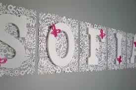 Nursery Wall Decor Letters Wall Decor Letters Decoration For Walls Large Letters For