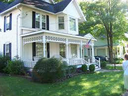 white two story house at marshall mi beautiful homes and old